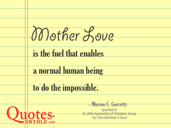quotes-about-mothers-love