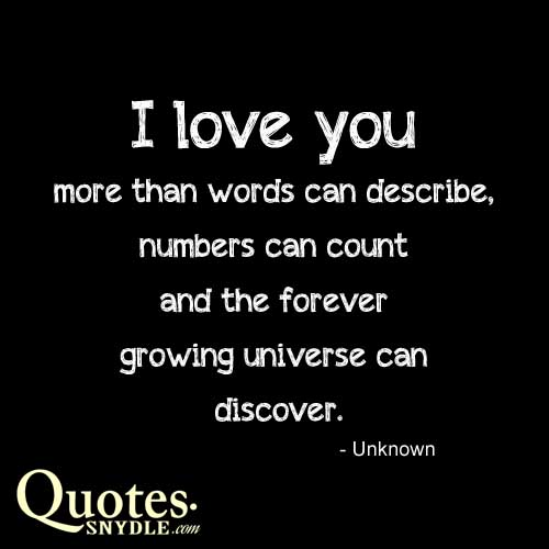 Funny I Think I Love You Quotes : Pics Photos - Love You More Than Words Can Say Quotes I Love You More ...