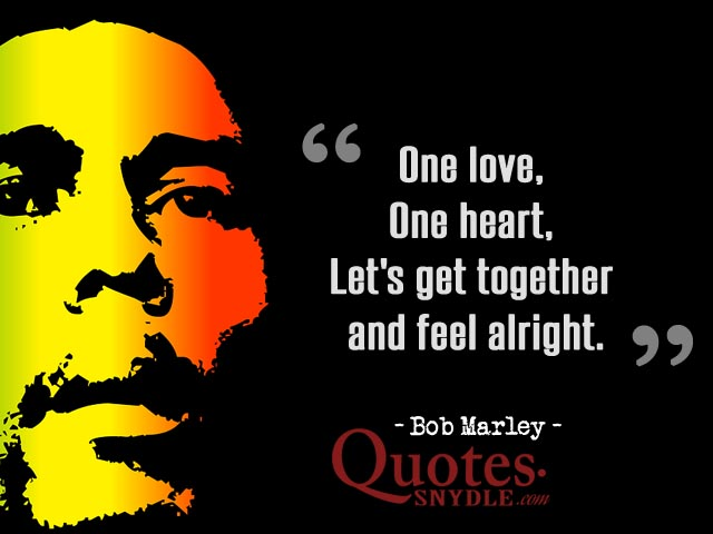 Bob Marley Quotes And Sayings With Picture