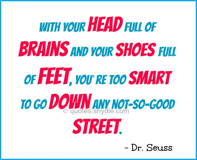 Dr. Seuss Sayings and Quotes