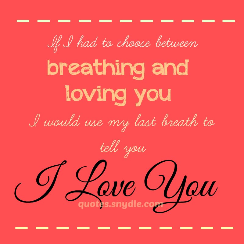 Short Sweet I Love You Quotes: 50+ Super Cute Love Quotes And Sayings With Picture