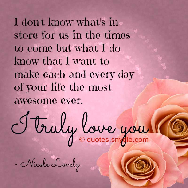 50+ Super Cute Love Quotes And Sayings With Picture