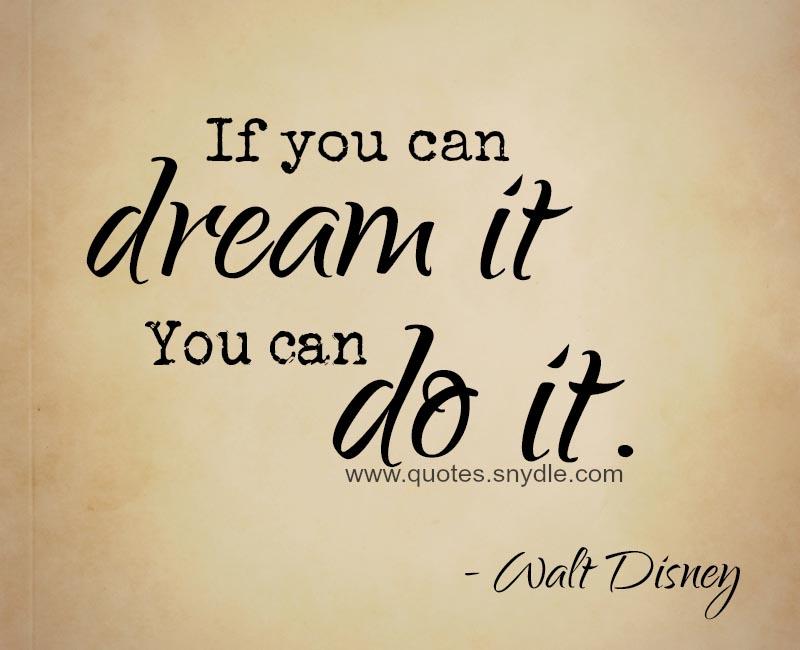Walt Disney Spruch