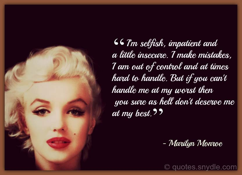 Marilyn-Monroe-Life-Quotes - Inspiration Boost |Marilyn Monroe Quotes And Sayings About Love