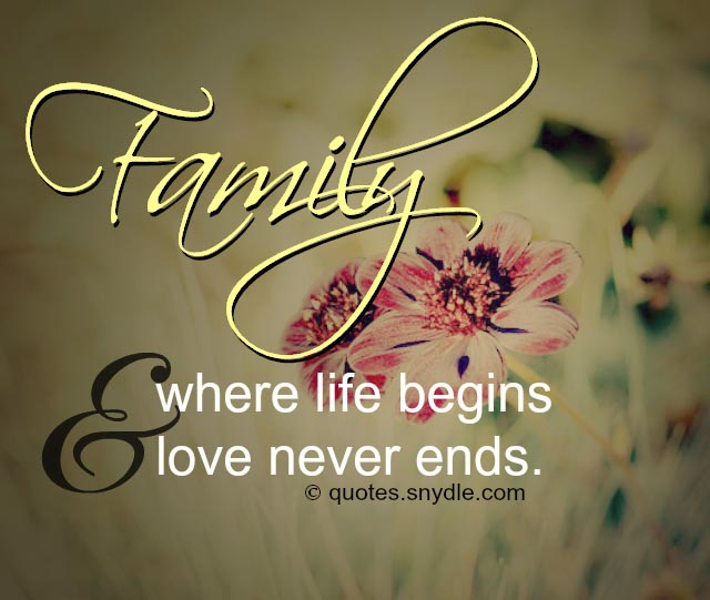Family Love Quotes Images: Quotes About Family With Images