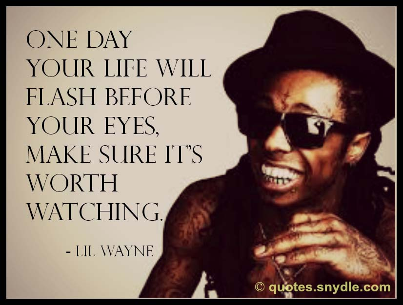 Lil Wayne Quotes And Sayings With Image