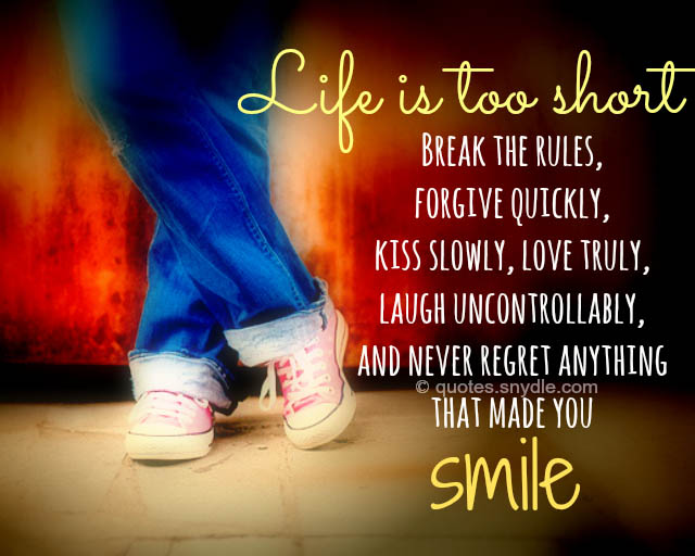life-is-too-short-picture-quotes-sayings