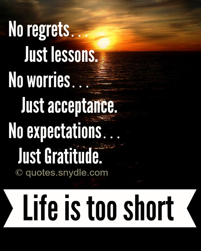 Short Quotes Life: 40 Amazing Life Is Too Short Quotes And Sayings With