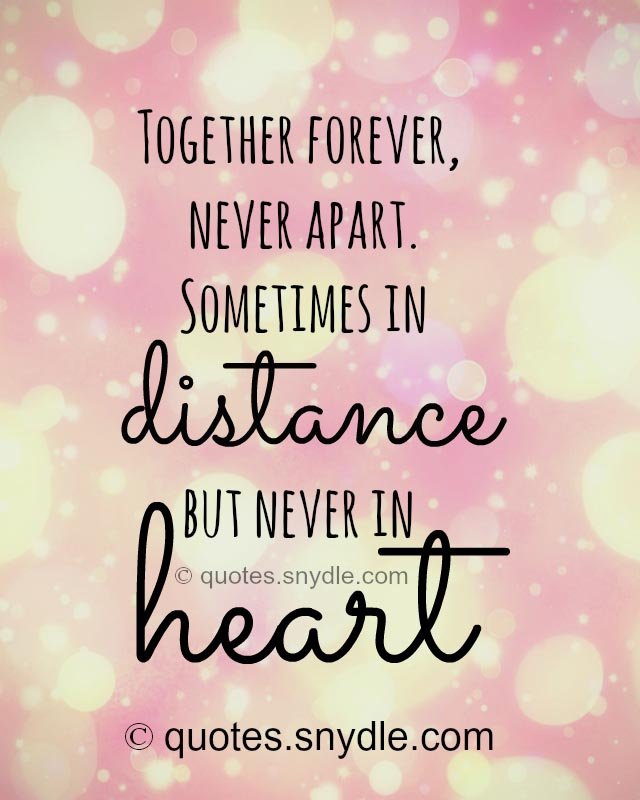 Long Distance Relationship Quotes And Sayings With