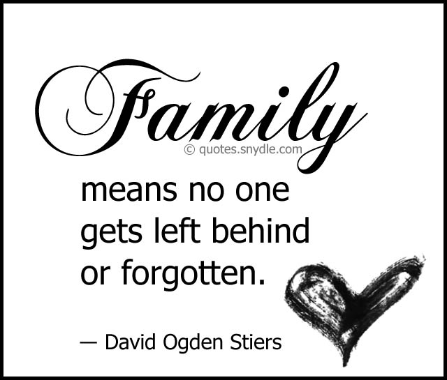 Quotes About Family With Images