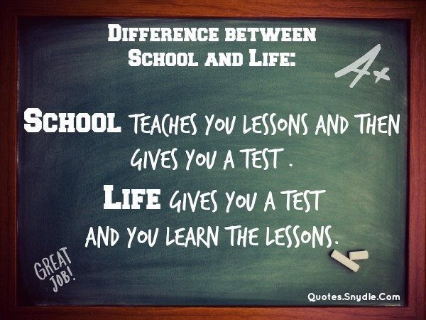 Quotes about ife lessons