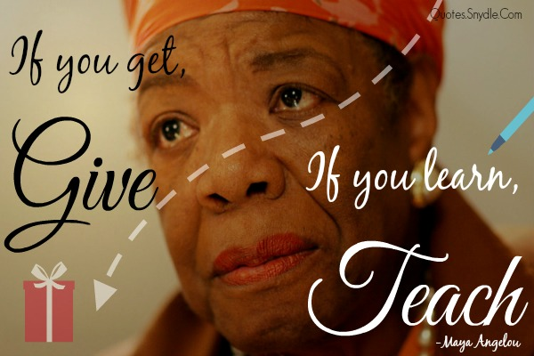 Quotes by Maya Angelou 4