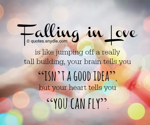 quotes about falling for someone new