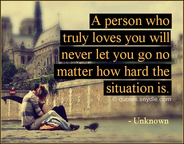 Love Finding Quotes About Never: True Love Quotes And Sayings With Image