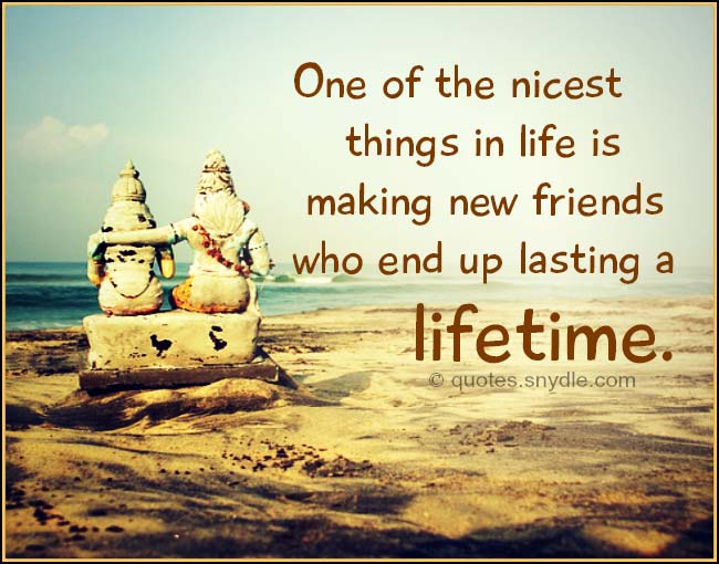 Quotes About Long Lasting Friendship Magnificent New Friendship Quotes With Image  Quotes And Sayings