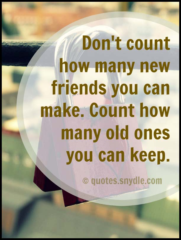 New Friendship Quotes With Image Quotes And Sayings
