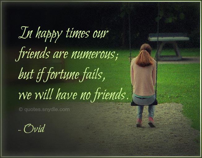 Picture Famous Sad Friendship Quotes And Sayings
