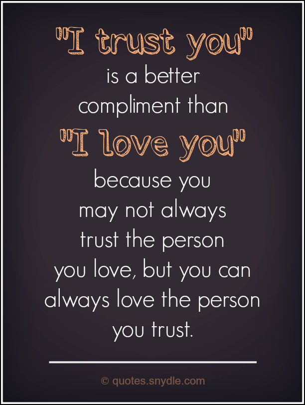 Quotes about Trust with Images - Quotes and Sayings