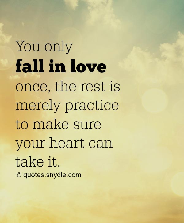 In Love Quotes: Falling In Love Quotes And Sayings