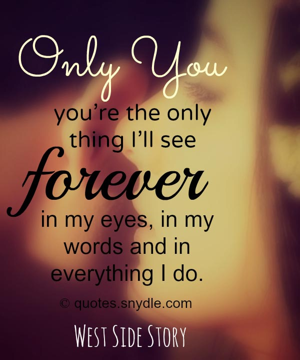 Short Sweet I Love You Quotes: 50 Really Sweet Love Quotes For Him And Her With Picture