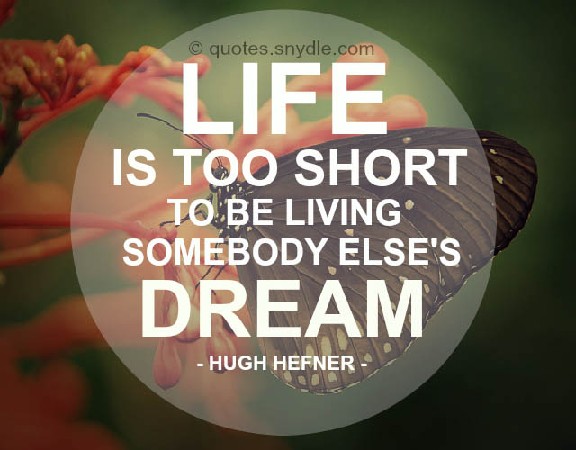 Short Life Quotes And Sayings With Image Quotes And Sayings
