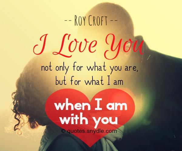 I Love You Quotes And Sayings: 50 Really Sweet Love Quotes For Him And Her With Picture