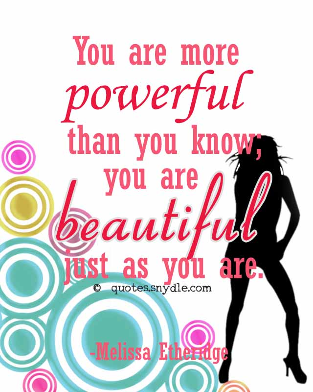 Inspirational Quotes For Women To Empower You Quotes
