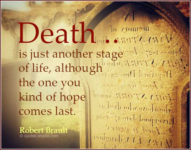 Consoling Quotes: Quotes About Death With Image