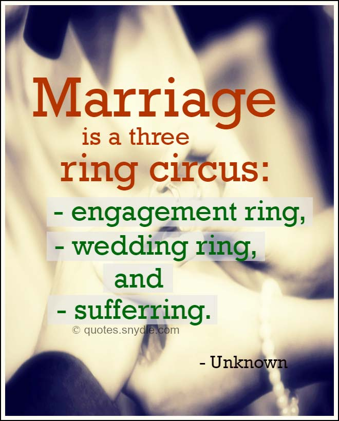 Nice Quotes For Wedding Cards: Funny Marriage Quotes With Image