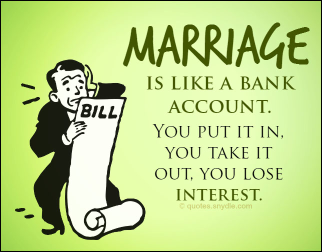 Funny Marriage Quotes With Image Quotes And Sayings