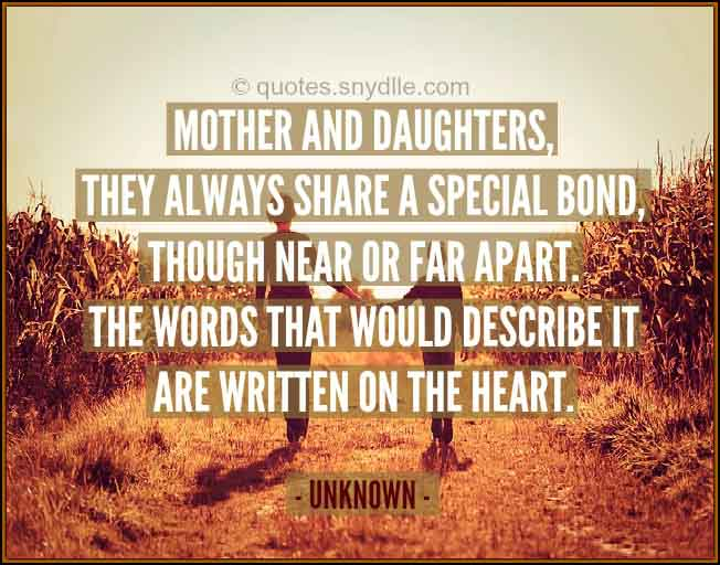 mother and daughter relationship sayings