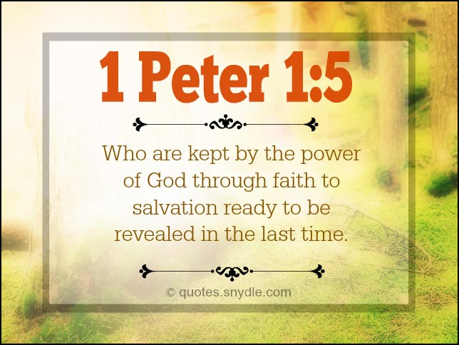 Bible quotes about faith