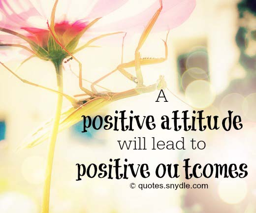 positive attitude quotes and sayings with pictures