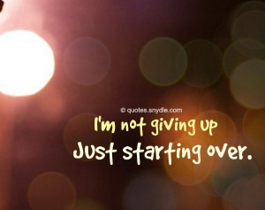 starting-over-quotes-sayings