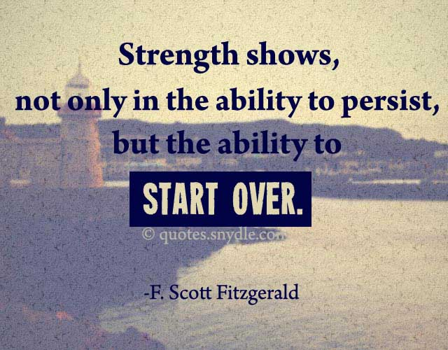Motivational Starting Over Quotes And Sayings With Picture