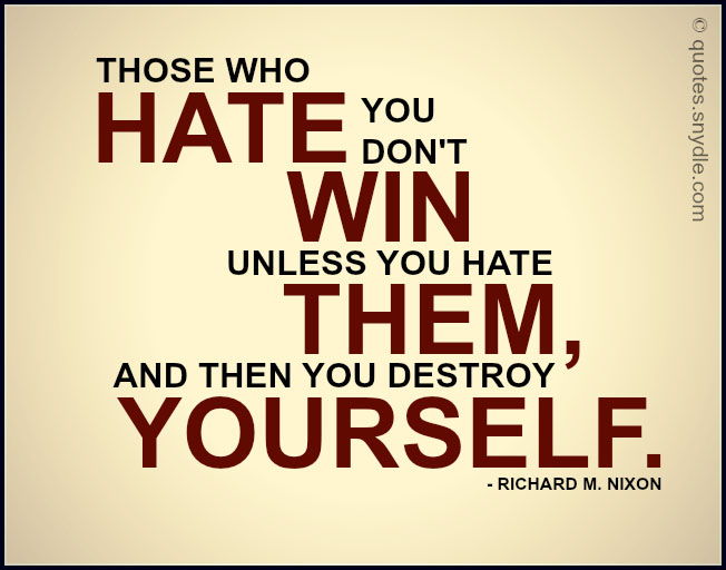 Quotes About Hate With Pictures Quotes And Sayings