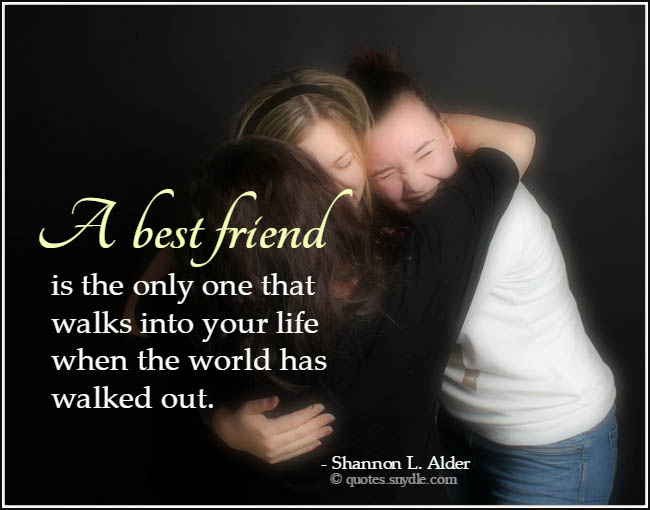 Inspirational Quotes About Death Of A Best Friend Image: Best Friend Quotes And Sayings With Image