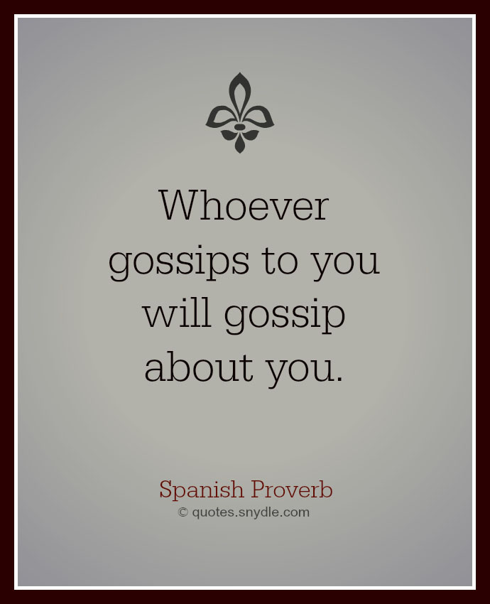 Quotes About Gossip With Images Quotes And Sayings