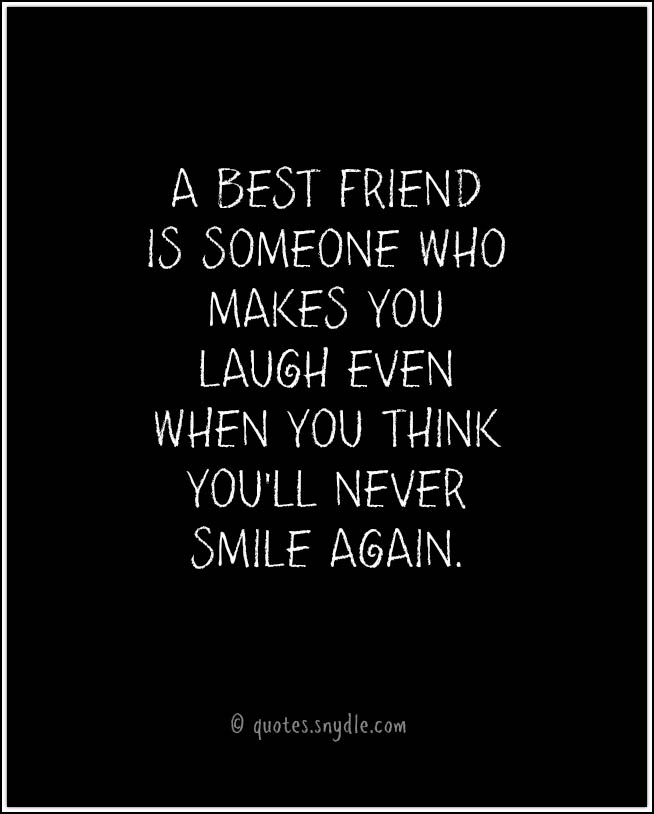 Best Quotes For Thanking Best Friend : Best friend quotes and sayings with image