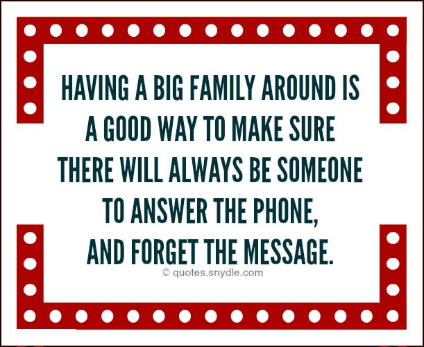 Funny Family Quotes and Sayings with Images – Quotes and Sayings
