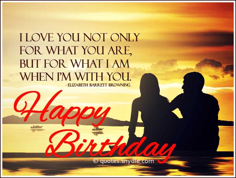 Birthday Quotes For Boyfriend Quotes And Sayings