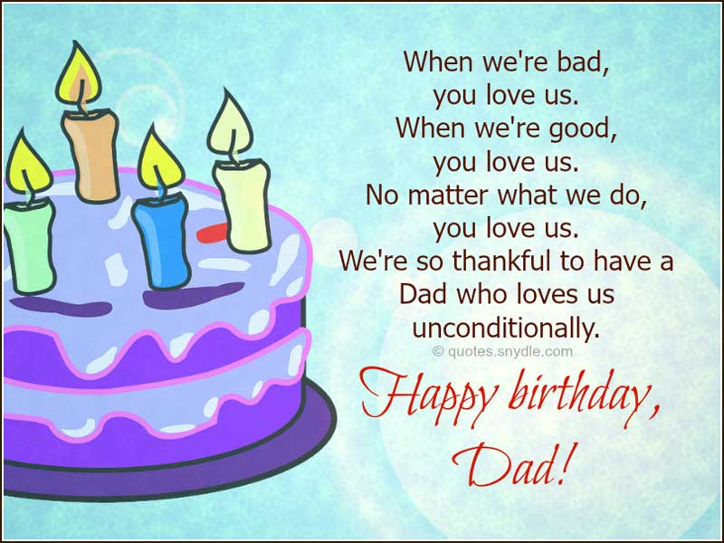 dad birthday quotes from kids - photo #8