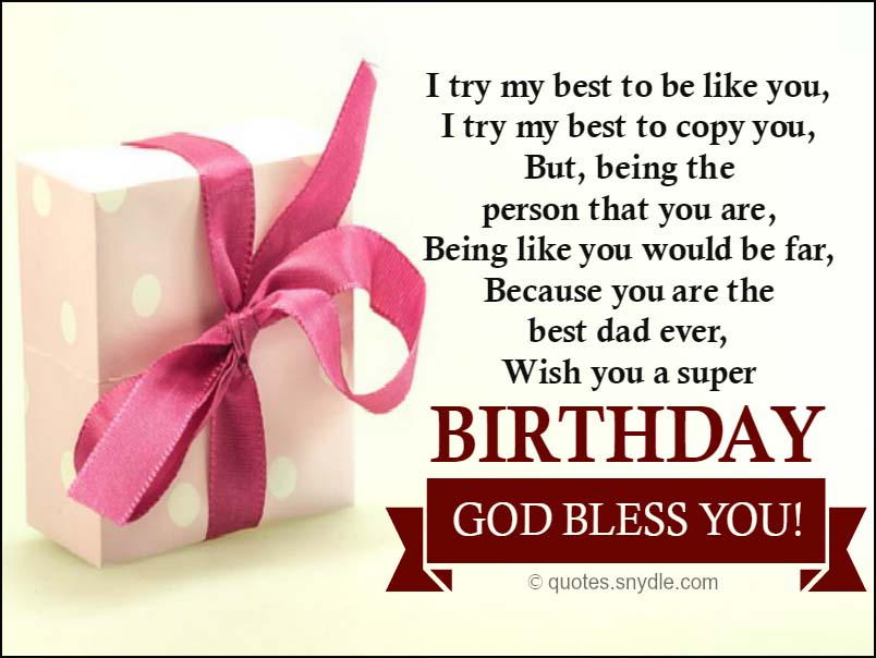 dad birthday quotes from son - photo #7