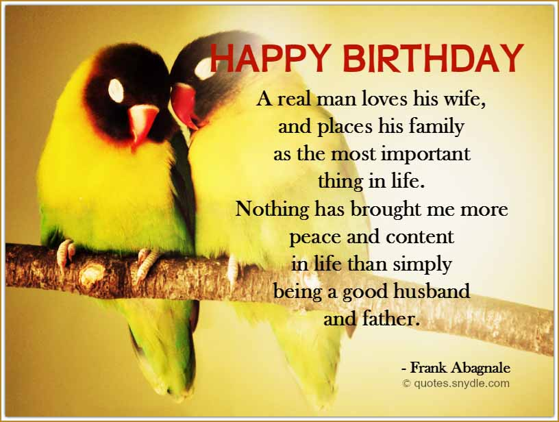 Best Birthday Quotes For Wife From Husband