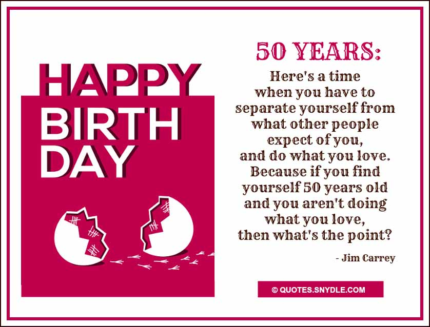 Funny 50th Birthday Wishes Quotes: 50th Birthday Quotes