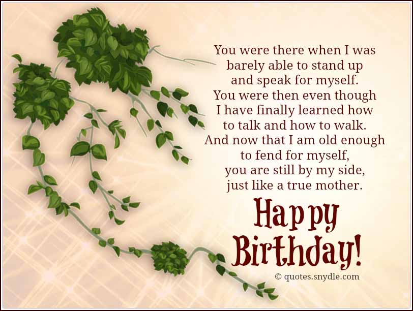 Happy Birthday Mom Quotes - Quotes and Sayings